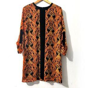 Mango | Printed Chiffon Dress Size 4